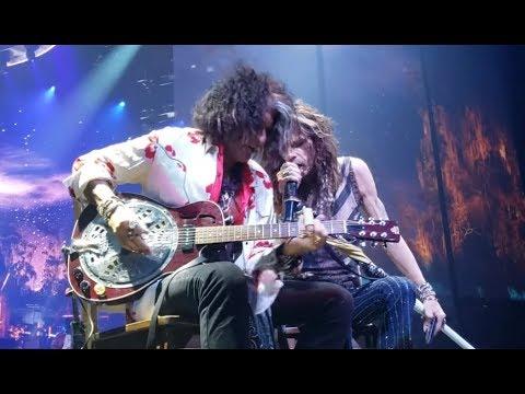 Aerosmith museum - STP 25th Anniv Purple - Voivod tour - Krokus final tour - Wacken 2018 - CHON
