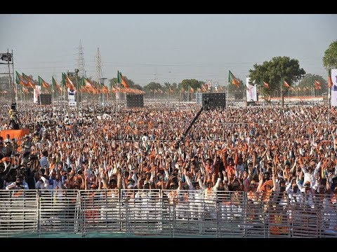 PM Modi & Shri Amit Shah addresses Panna Pramukh Sammelan & Gujarat Gaurav Mahasammelan