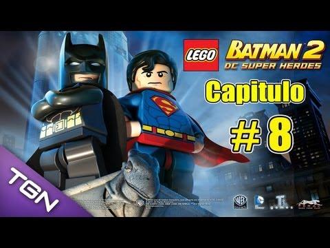 Lego Batman 2 DC Super Heroes - Capitulo 8 - HD 720p