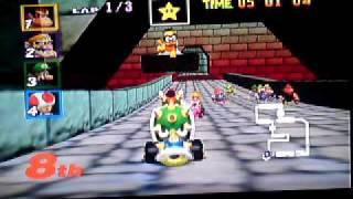 Mariokart 64 Bowser