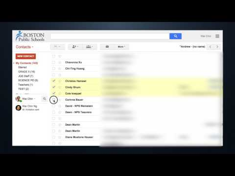 TECH TIP: How to Create Groups in Google Contacts