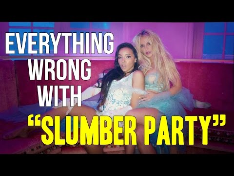 """Everything Wrong With Britney Spears - """"Slumber Party"""""""
