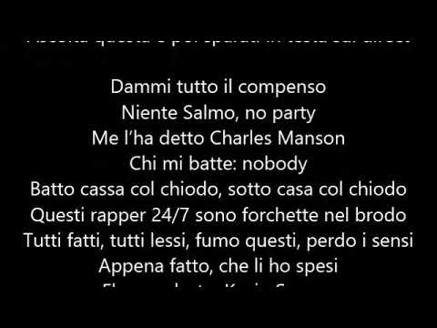Noyz Narcos - Mic Check (feat. Salmo) (Testo/Lyrics) [ENEMY]