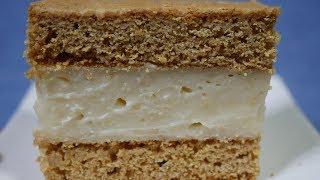Honey Pudding Slice( Cafe Style)