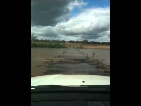 Crossing Limpopo River