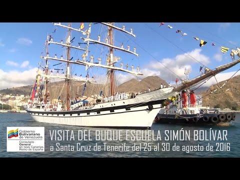 Visita a Tenerife del buque escuela Simón Bolivar - 25 al 30 de agosto de 2016