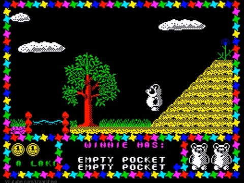 Winnie The Pooh Walkthrough Zx Spectrum Youtube