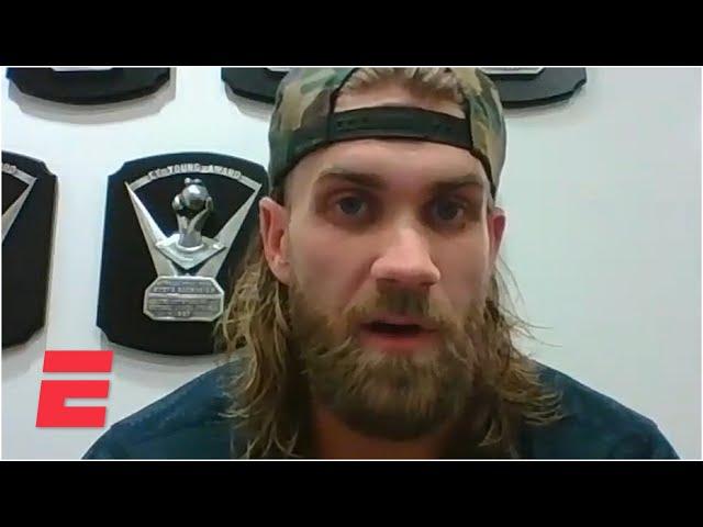 Bryce Harper talks MLB's coronavirus parameters and playoffs | MLB on ESPN