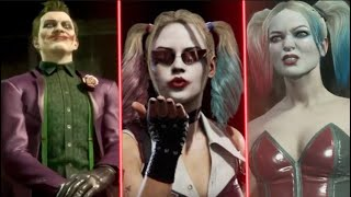 Change In Joker Teasing Harley Quinn In MORTAL KOMBAT Games - Mortal Kombat 11