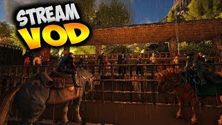 Starting The Tavern Project Part 1 (Ark Seven Kingdoms RP Stream VOD)