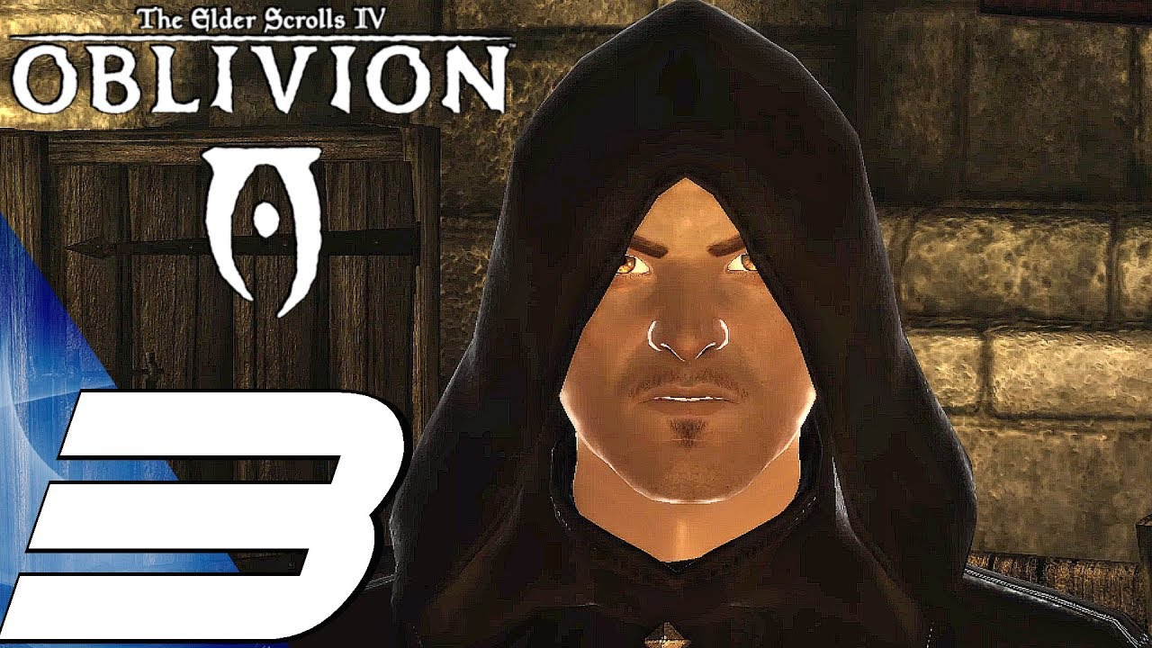 OBLIVION - Gameplay Walkthrough Part 3 - Joining Dark Brotherhood
