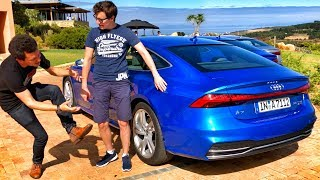 ОБЗОР НОВОЙ АУДИ А7 С ПАВЛОМ БЛЮДЕНОВЫМ!!! Тест-драйв в Африке. Изучаем Audi A7 55 TFSI - 340 сил :) thumbnail