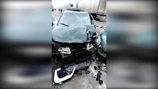 Смотреть видео Пятеро волгоградцев погибли в ДТП на трассе «Москва-Астрахань» онлайн