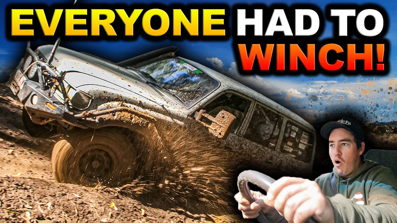 Download BOGGED 30 TIMES IN 3 DAYS! Bent panels, busted suspension & MUD – Victoria's muddiest 4WD track