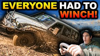 BOGGED 30 TIMES IN 3 DAYS! Bent panels, busted suspension & MUD – Victoria's muddiest 4WD track