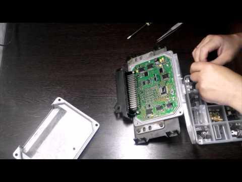 Удаление иммобилайзера без программатора и ноутбука на практике, на примере ВАЗ 2110 ЭБУ январь 5.1