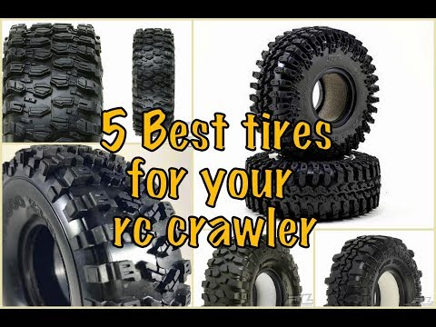 5 best RC Crawler tires