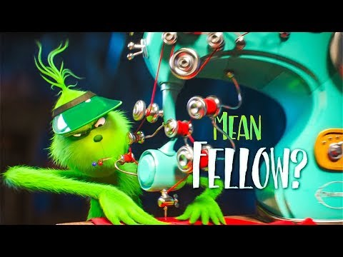 The Grinch 'You're A Mean One Song' Lyric Video (2018) HD
