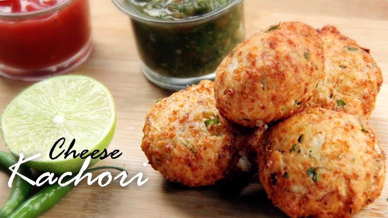 Cheese Kachori / Cheese balls Recipe| Stuffed Cheese Balls ...