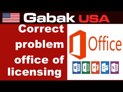 How to fix Office 365 error Microsoft office can't find your license for this application