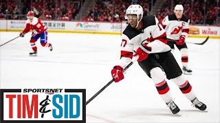 Why Wayne Simmonds Took Less Money To Play For Hometown Maple Leafs | Tim and Sid