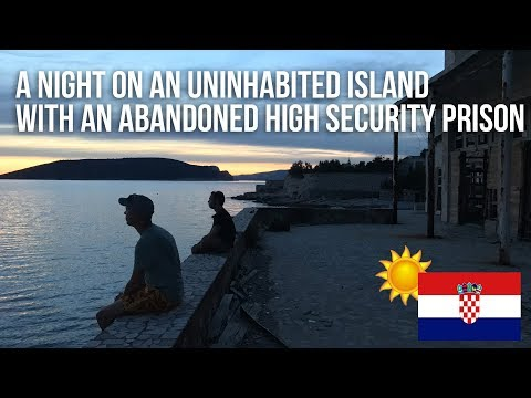 014 A night on an uninhabited Island with an abandoned secret high security Prison