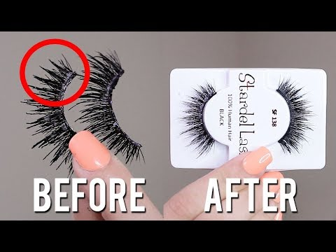 HOW TO CLEAN EYELASHES