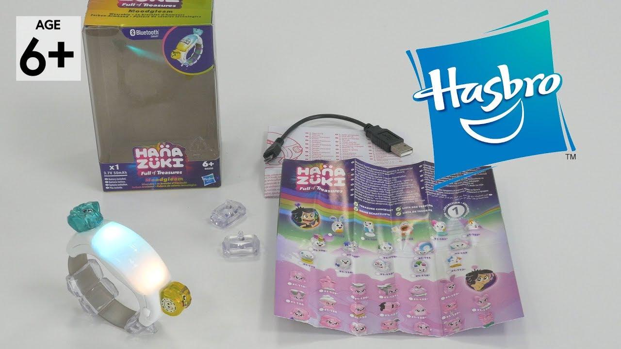 Nouveau Hasbro hanazuki pleine de trésors Violet 6 courageux Caractères