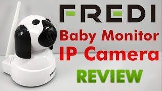 Review FREDI Baby Monitor Wireless 720P Security Camera, WiFi Home Surveillance IP Camera