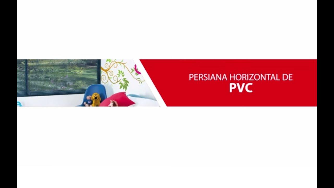 #CA0116 Como instalar una Persiana Horizontal de PVC marca Reggia   3779 Como Instalar Janela De Pvc