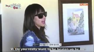Victoria scolding Amber and Luna [Amazing f(x)]