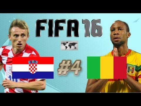 FIFA 16 - INTERNATIONAL ROULETTE #4 - CROATIA VS MALI