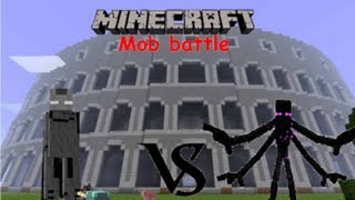 Minecraft Mob battle: Mutant Enderman vs Ender Lord