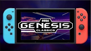 Nintendo Switch Games | Sega Genesis Classics - Announcement Trailer