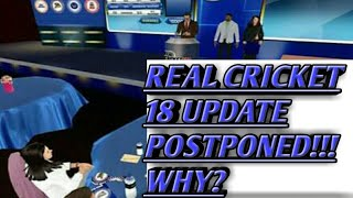 ||REAL CRICKET IPL AUCTION||UPDATE POSTPONED||