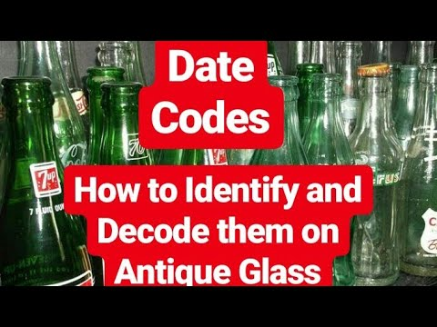 dating antique soda bottles
