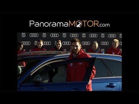 Audi entrega de coches a las estrellas del FC Barcelona 2017