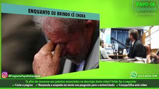 Bolsonaro sacaneando o Lula após julgamento no STF