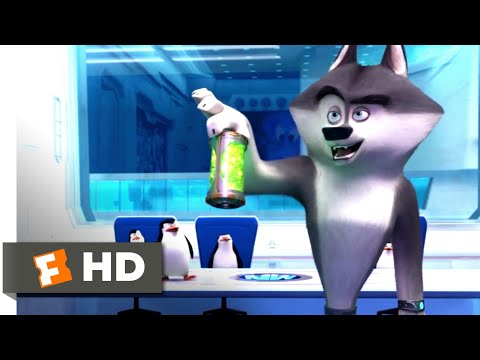 Penguins Of Madagascar (2014) - North Wind Headquarters Scene (3/10) | Movieclips