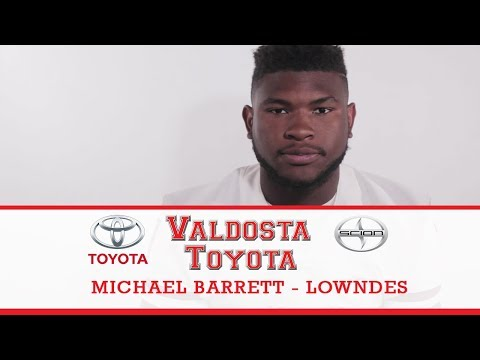 Valdosta Toyota Player Profile: Michael Barrett