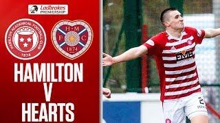 Hamilton 1-0 Hearts   Aaron McGowan Scores Superb Volley!   Ladbrokes Premiership
