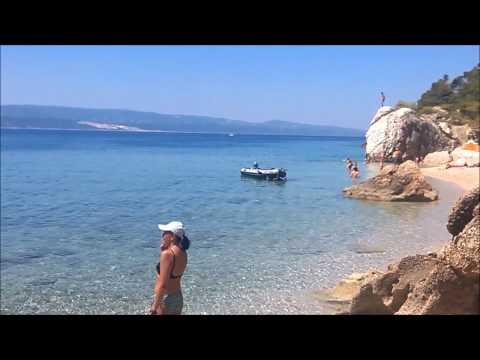 Croatia, Pisak beach