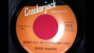 DEREK MARTIN...DON
