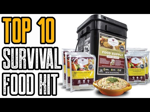 Top 10 Best Survival Food Kits & Emergency Food Supplies