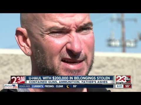 Florida man has U-Haul trailer stolen in Bakersfield