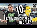10 Common Mistakes Salespeople Make