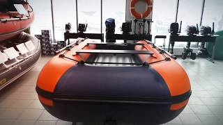 Распаковка и обзор лодки НДНД Река-355
