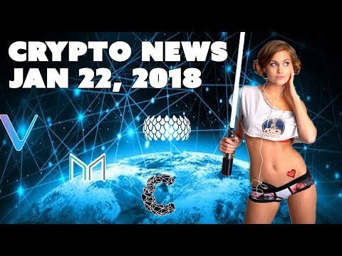 Crypto News - Jan 22, 2018 - Cindicator Maker Sirin Labs Vechain and Bitcoin Conference
