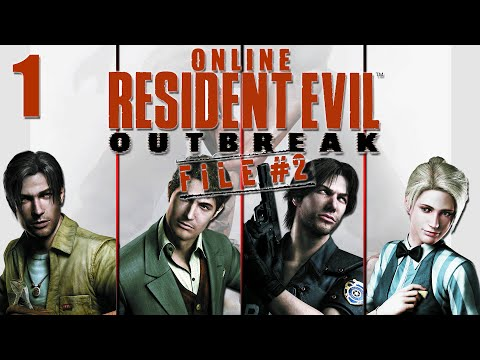 Resident Evil Outbreak File 2 Online Co-Op - Stage 1 Wild Things Part 1