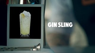 GIN SLING DRINK RECIPE - HOW TO MIX